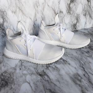 Adidas Sneakers- Size 8.5, White